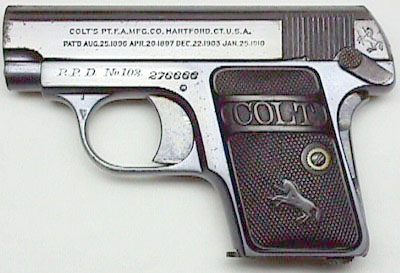 Factory Inscribed Model N .25 ACP